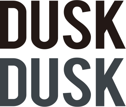 DUSK Letter Logo Decal